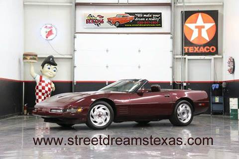 1993 Chevrolet Corvette for sale at STREET DREAMS TEXAS in Fredericksburg TX