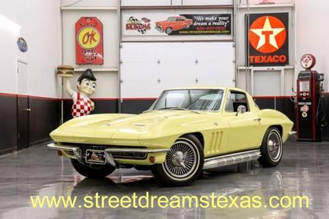 1966 Chevrolet Corvette for sale at STREET DREAMS TEXAS in Fredericksburg TX