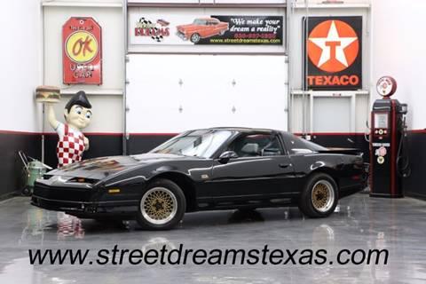 1988 Pontiac Firebird for sale at STREET DREAMS TEXAS in Fredericksburg TX