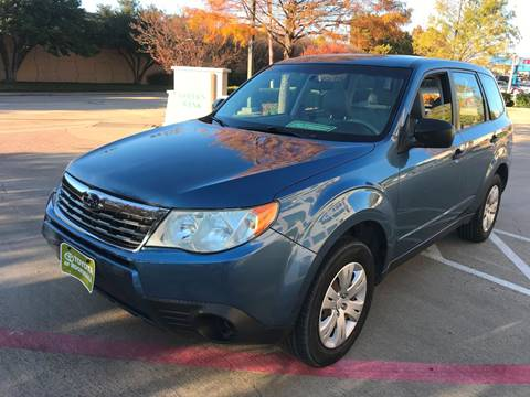 2009 Subaru Forester for sale in Richardson, TX