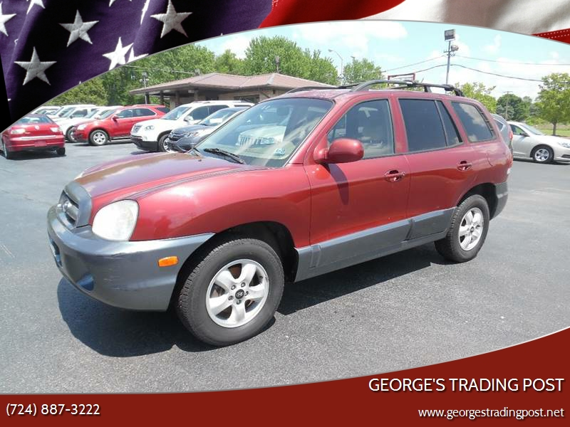 Great 2005 Hyundai Santa Fe For Sale At GEORGEu0027S TRADING POST In Scottdale PA