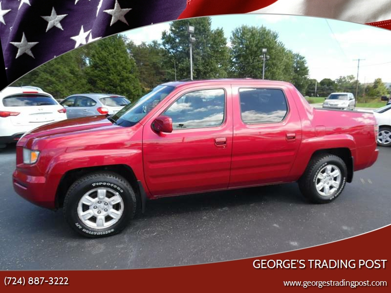 2006 Honda Ridgeline For Sale At GEORGEu0027S TRADING POST In Scottdale PA