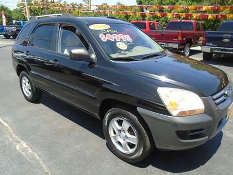 2007 Kia Sportage for sale at River City Auto Sales in Cottage Hills IL