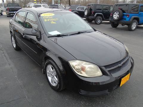 2010 Chevrolet Cobalt for sale at River City Auto Sales in Cottage Hills IL