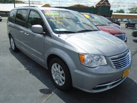 2015 Chrysler Town and Country for sale at River City Auto Sales in Cottage Hills IL