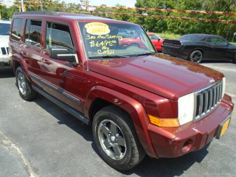 2007 Jeep Commander for sale at River City Auto Sales in Cottage Hills IL