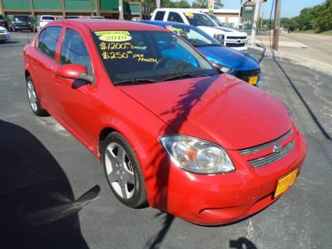 2010 Chevrolet Cobalt for sale at River City Auto Sales in Cottage Hills IL