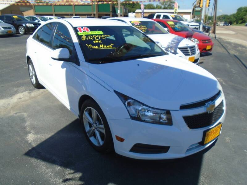 2014 Chevrolet Cruze for sale at River City Auto Sales in Cottage Hills IL