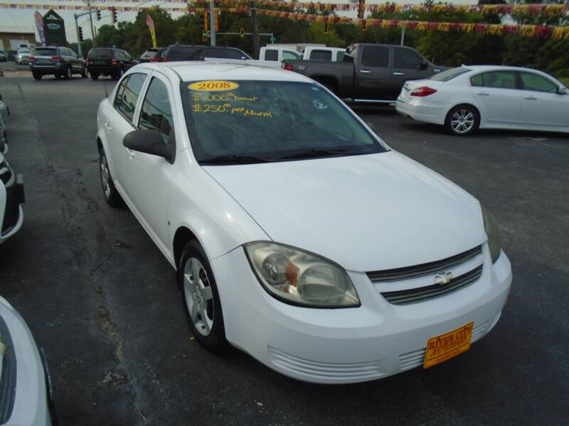 2008 Chevrolet Cobalt for sale at River City Auto Sales in Cottage Hills IL