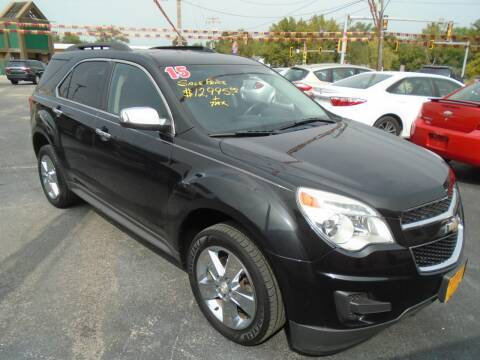 2015 Chevrolet Equinox for sale at River City Auto Sales in Cottage Hills IL