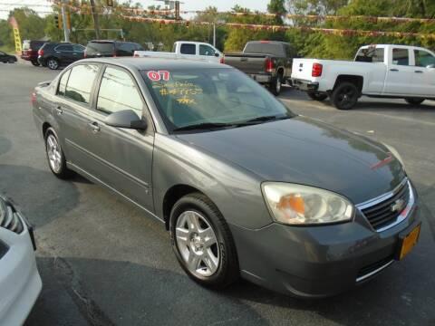 2007 Chevrolet Malibu for sale at River City Auto Sales in Cottage Hills IL