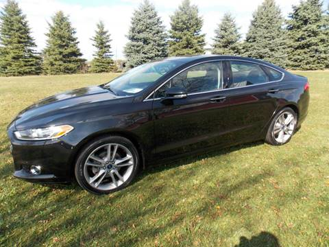 2015 Ford Fusion for sale in Waldo, WI