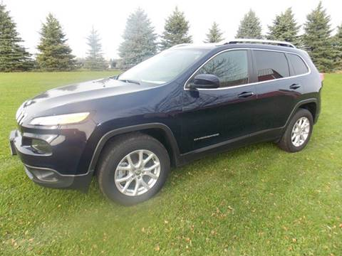 2016 Jeep Cherokee for sale at ADELL AUTO CENTER in Waldo WI