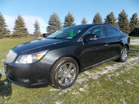 2011 Buick LaCrosse for sale at ADELL AUTO CENTER in Waldo WI