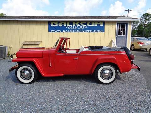 1951 Willys Jeepster for sale in Wilmington, NC