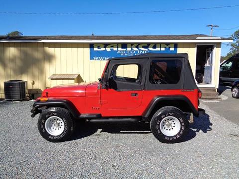 1990 Jeep Wrangler for sale in Wilmington, NC