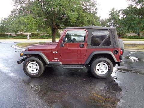 2003 Jeep Wrangler for sale in Wilmington, NC