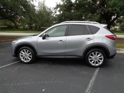 2015 Mazda CX-5 for sale at BALKCUM AUTO INC in Wilmington NC