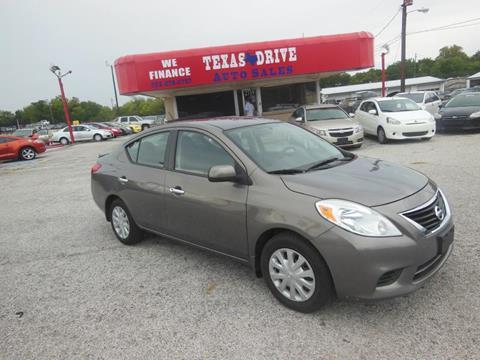 2013 Nissan Versa for sale in Garland, TX