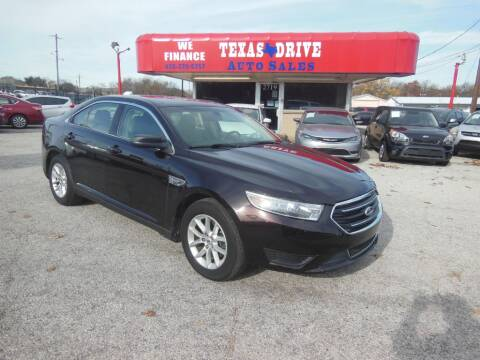 2013 Ford Taurus for sale in Garland, TX