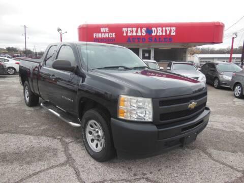 2010 Chevrolet Silverado 1500 Work Truck for sale at Texas Drive LLC in Garland TX