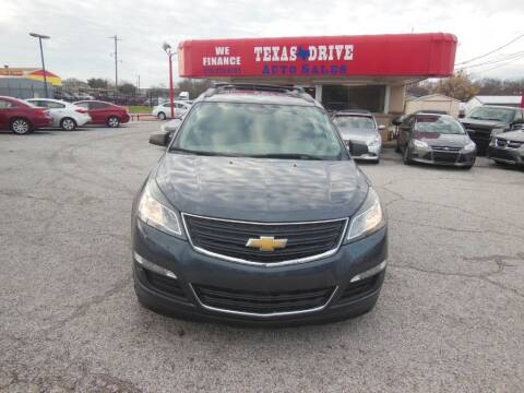 2013 Chevrolet Traverse LS for sale at Texas Drive LLC in Garland TX