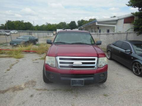 2007 Ford Expedition EL for sale at Texas Drive LLC in Garland TX