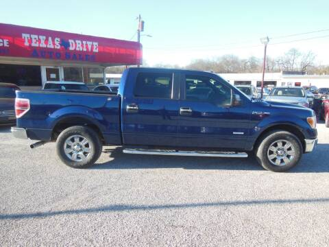 2012 Ford F-150 for sale at Texas Drive LLC in Garland TX