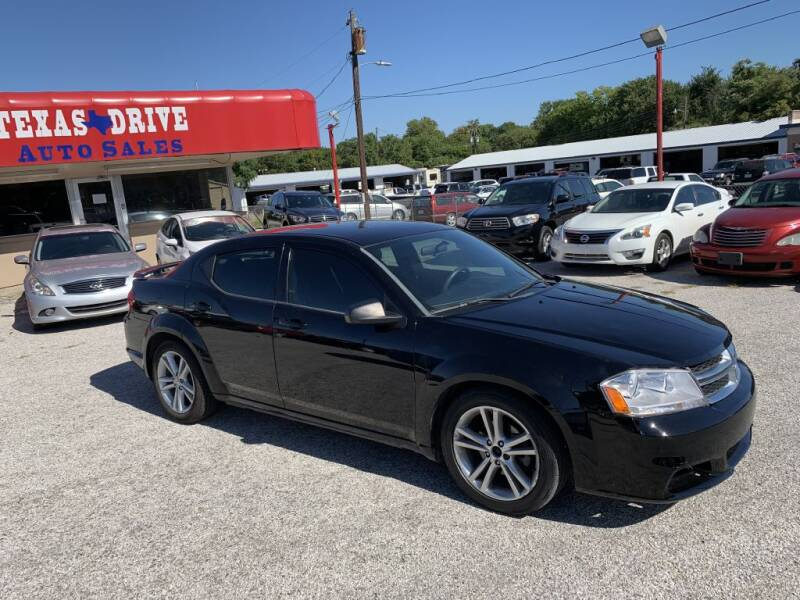 2014 Dodge Avenger for sale at Texas Drive LLC in Garland TX