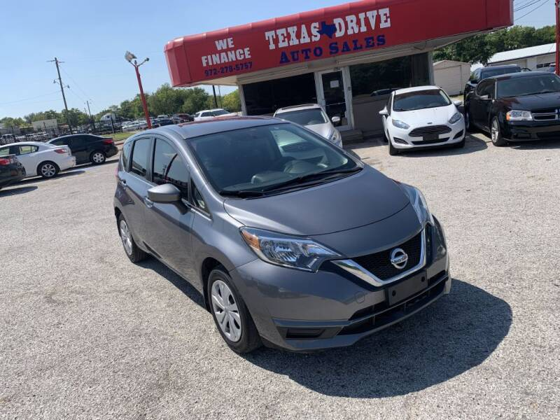 2017 Nissan Versa Note for sale at Texas Drive LLC in Garland TX