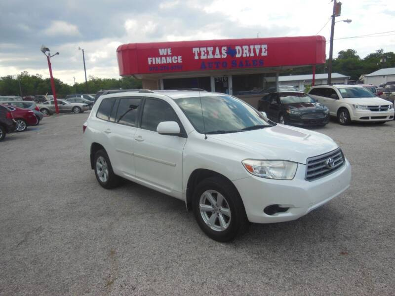 2010 Toyota Highlander for sale at Texas Drive LLC in Garland TX