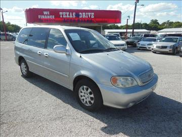 2005 Kia Sedona for sale in Garland, TX