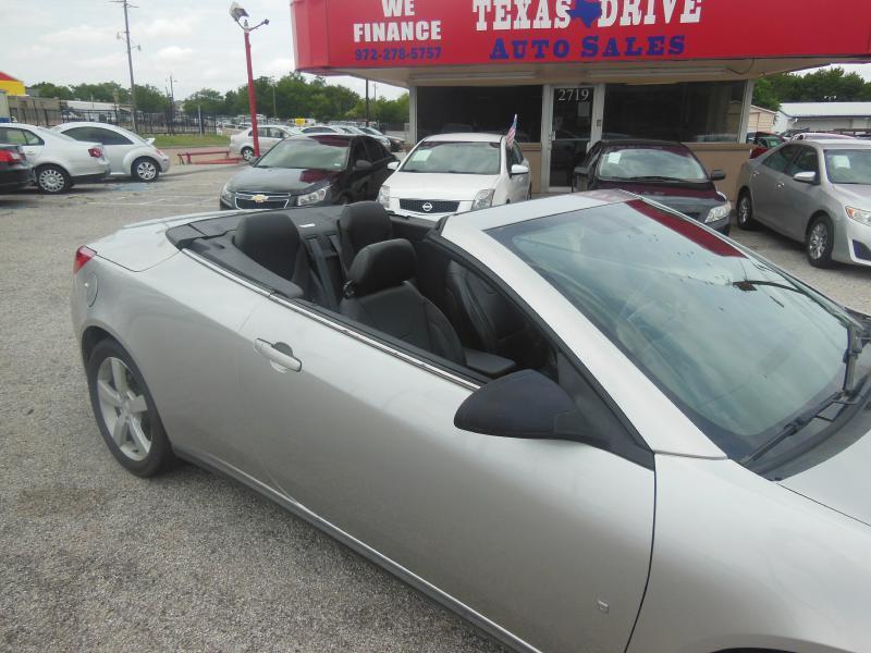 2007 Pontiac G6 GT 2dr Convertible - Garland TX