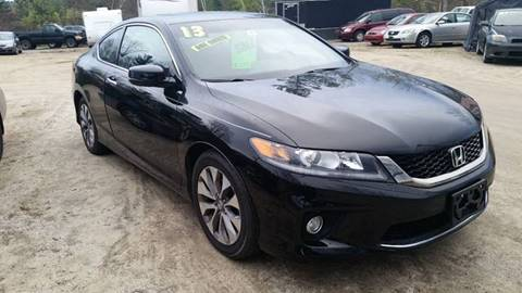 2013 Honda Accord for sale in Tilton, NH
