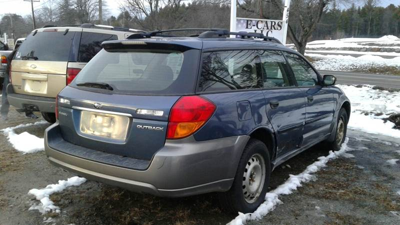 2005 Subaru Outback AWD 2.5i 4dr Wagon - Tilton NH