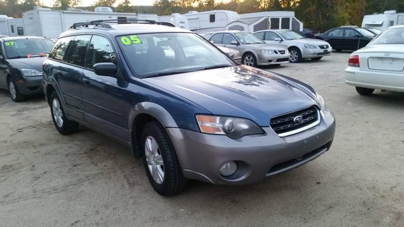 2005 Subaru Outback Awd 25i 4dr Wagon In Tilton Nh E Cars Llc