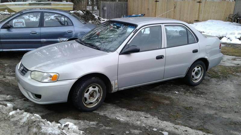 2001 Toyota Corolla CE 4dr Sedan - Tilton NH