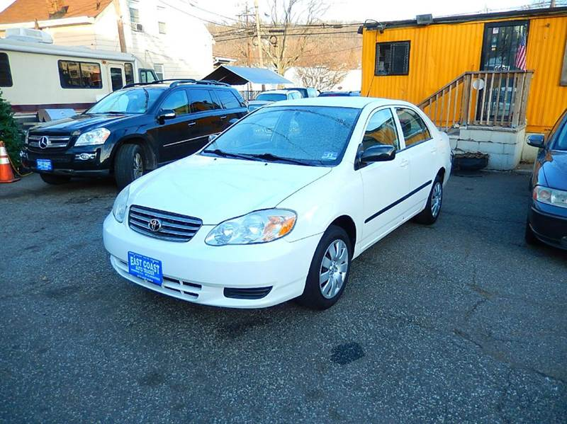 2003 Toyota Corolla for sale at East Coast Auto Trader in Wantage NJ