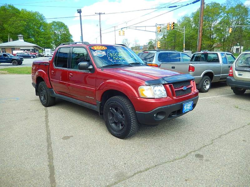 2001 Ford Explorer Sport Trac for sale at East Coast Auto Trader in Wantage NJ