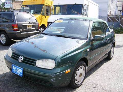 2001 Volkswagen Cabrio for sale at East Coast Auto Trader in Wantage NJ
