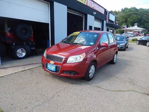 2009 Chevrolet Aveo for sale at East Coast Auto Trader in Wantage NJ