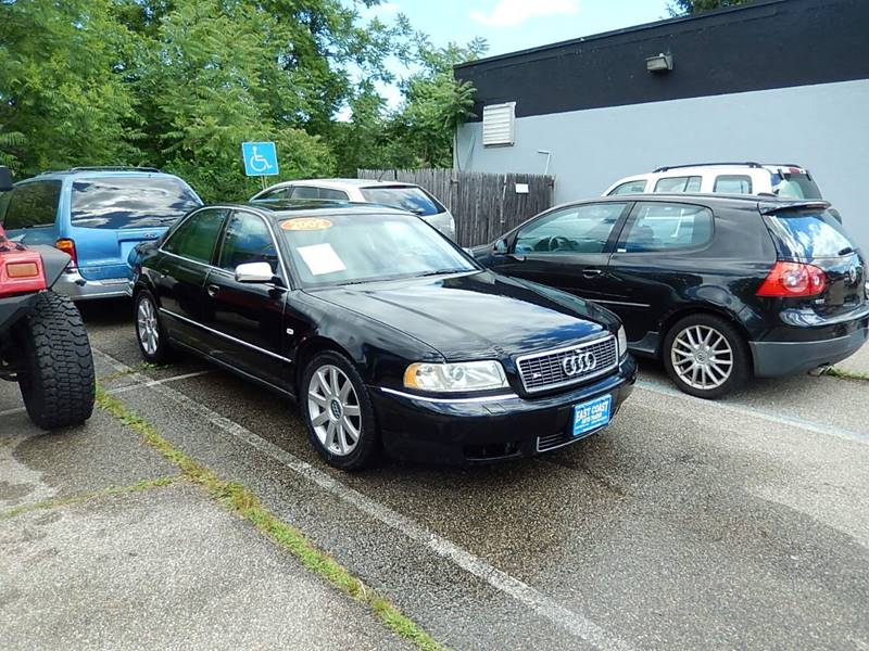 2002 Audi S8 for sale at East Coast Auto Trader in Wantage NJ