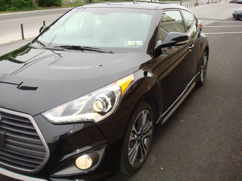 2016 Hyundai Veloster Turbo for sale at CONESTOGA MOTORS in Ephrata PA