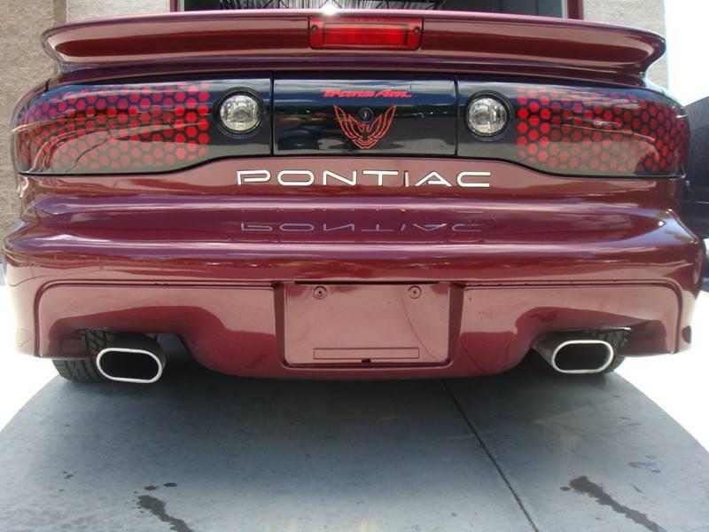 2000 Pontiac Firebird for sale at CONESTOGA MOTORS in Ephrata PA
