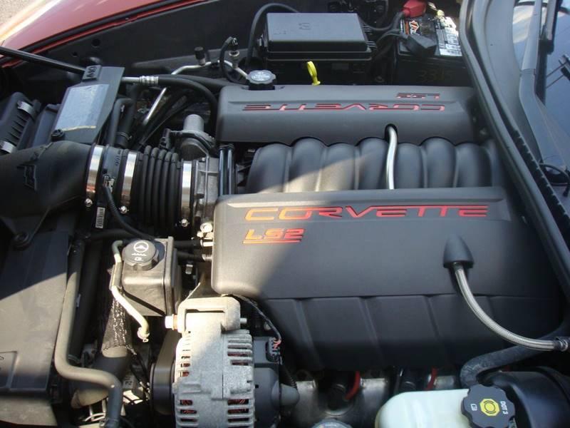 2005 Chevrolet Corvette for sale at CONESTOGA MOTORS in Ephrata PA
