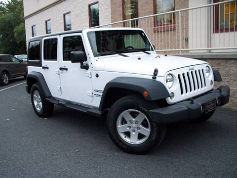 2016 Jeep Wrangler Unlimited for sale in Ephrata, PA