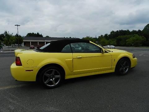 2003 Ford Mustang SVT Cobra for sale in Kernersville, NC