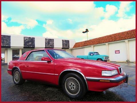 1989 Chrysler TC for sale in Miami, FL