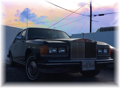 1982 Rolls-Royce Silver Spirit for sale in Miami, FL