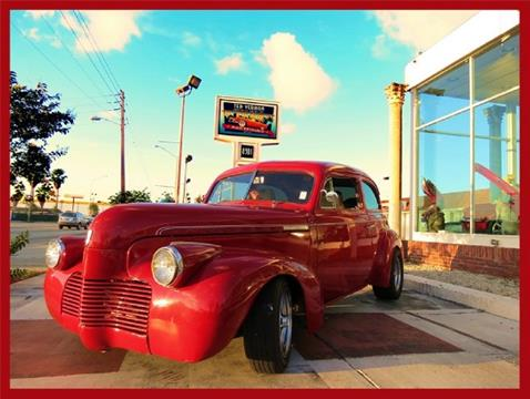 1940 Chevrolet Master Deluxe for sale in Miami, FL